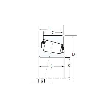 M257248D/M257210/M257210D Kegelrollenlager