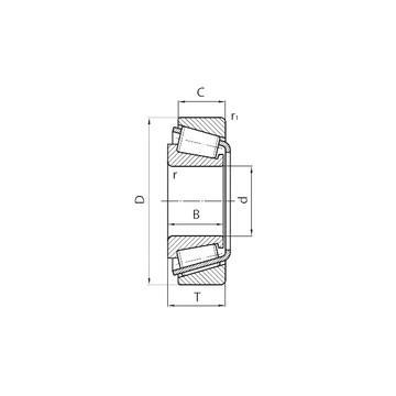 554/552D+X2S-554 Kegelrollenlager