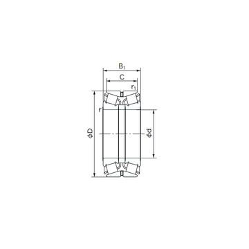 HM 89446/2/410/2/QCL7C Kegelrollenlager